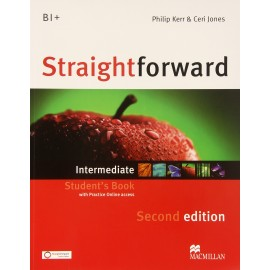 Straightforward Intermediate Second Ed. Student's Book + Online Webcode