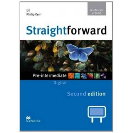 Straightforward Pre-Intermediate Second Ed. Interactive Classroom DVD-ROM - Multiple User
