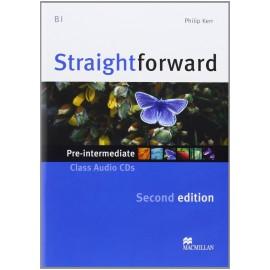 Straightforward Pre-Intermediate Second Ed. Class Audio CDs