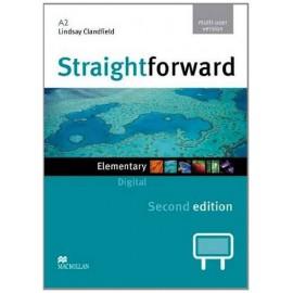 Straightforward Elementary Second Ed. Interactive Classroom DVD-ROM - Multiple User