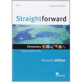 Straightforward Elementary Second Ed. Class Audio CDs