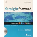 Straightforward Elementary Second Ed. Workbook with Key + CD