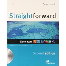 Straightforward Elementary Second Ed. Workbook with Key + CD