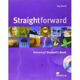 Straightforward Advanced Student's Book and CD-ROM Pack