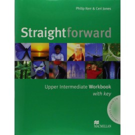 Straightforward Upper-Intermediate Workbook with Key + Audio CD