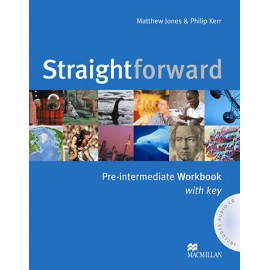 Straightforward Pre-Intermediate Workbook with Key + CD
