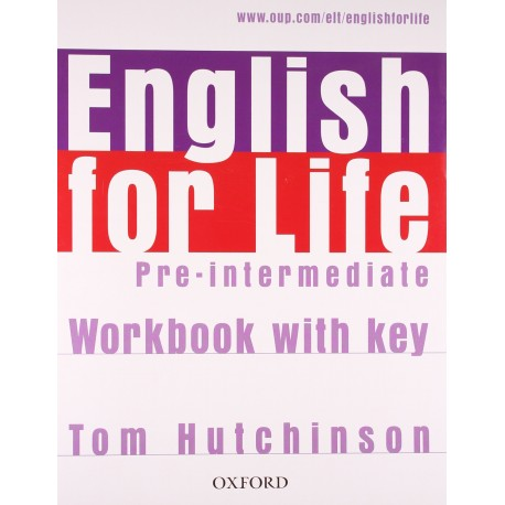 English for Life Pre-Intermediate Workbook with Key Oxford University Press 9780194307635