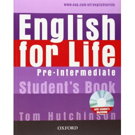 English for Life Pre-Intermediate Student's Book + MultiROM