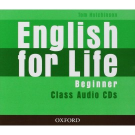 English for Life Beginner Class Audio CDs