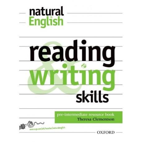 Natural English Pre-Intermediate Reading and Writing Skills Oxford University Press 9780194388627