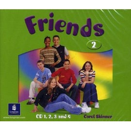 Friends 2 Class Audio CDs (4)