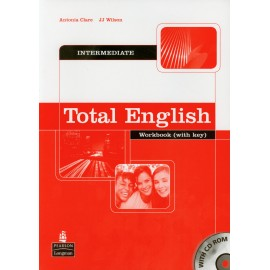 Total English Intermediate Workbook with Key + CD-ROM