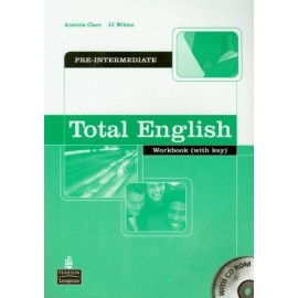 Total English Pre-Intermediate Workbook with Key + CD-ROM