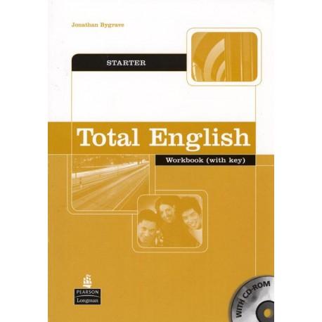 Total English Starter Workbook with Key + CD-ROM Longman 9781405829151