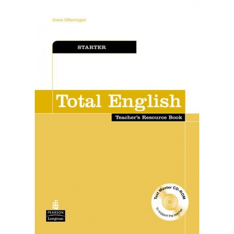 Total English Starter Teacher's Resource Book with Test Master CD-ROM Longman 9781405848305