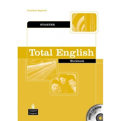 Total English Starter Workbook without Key + CD-ROM Longman 9781405829144