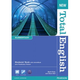 New Total English Elementary Student's Book with Active Book CD-ROM
