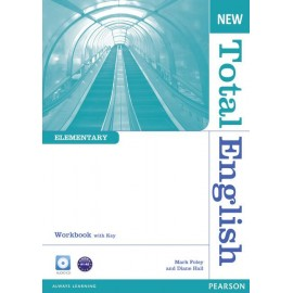 New Total English Elementary Workbook with Key + Audio CD