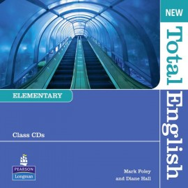New Total English Elementary Class CDs