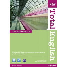 New Total English Pre-Intermediate Student's Book with Active Book CD-ROM & MyLab Access