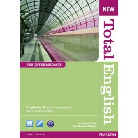 New Total English Pre-Intermediate Student's Book with Active Book CD-ROM