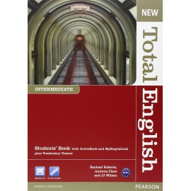 New Total English Intermediate Student's Book with Active Book CD-ROM & MyLab Access