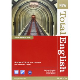 New Total English Intermediate Student's Book with Active Book CD-ROM