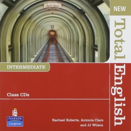 New Total English Intermediate Class CDs