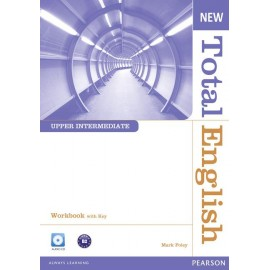 New Total English Upper-Intermediate Workbook with Key + Audio CD