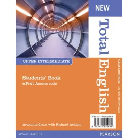New Total English Upper-Intermediate Student's eText Access Card