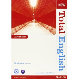 New Total English Advanced Workbook with Key + Audio CD