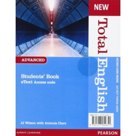 New Total English Advanced Student's eText Access Card