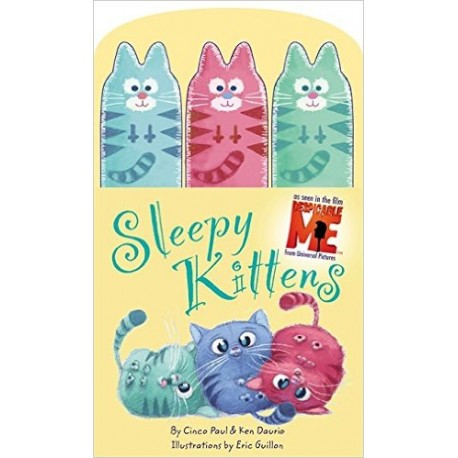 Sleepy Kittens Finger Puppets Board Book Little Brown Book Group 9780316083812