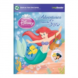 LeapFrog Read on Your Own Series Disney Princess - Adventures Under the Sea LeapReader Book