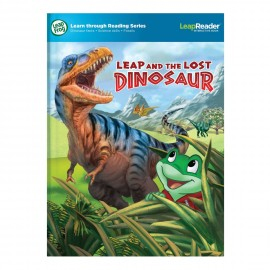 LeapFrog Learn through Reading Series Leap and the Lost Dinosaur LeapReader Book