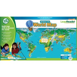 Leapfrog get ready to read tag junior scout set leapfrog learn through reading series leapreader interactive world map gumiabroncs Gallery