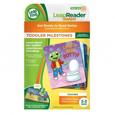LeapFrog Get Ready to Read Series Toddler Milestones Tag Junior Board Book  Set