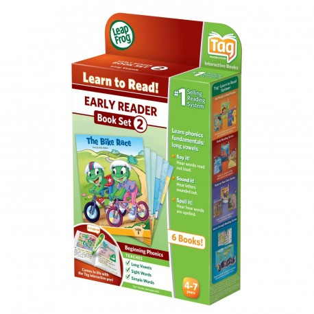 LeapFrog Early Reader LeapReader Book Set 2 - Long Vowels LeapFrog 0708431223318