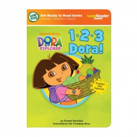 LeapFrog Get Ready to Read Series Nickelodeon Dora the Explorer - 1, 2, 3 Dora! Tag Junior Reader