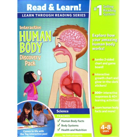 LeapFrog Learn through Reading Series Interactive Human Body ...