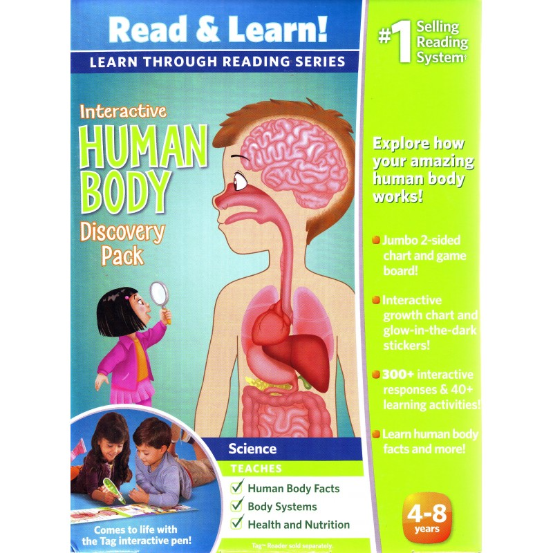 Leapfrog Learn Through Reading Series Interactive Human Body
