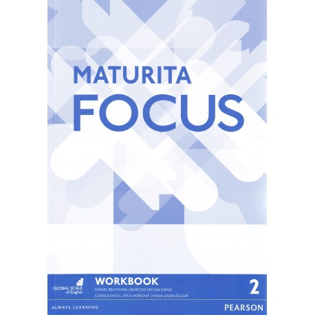 Maturita Focus 2 Pre-Intermediate Workbook Pearson 9781292130125