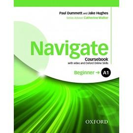Navigate Beginner Coursebook + DVD-ROM + Oxford Online Skills Practice