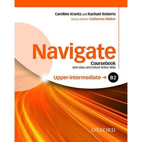 Navigate Upper-Intermediate Coursebook + DVD-ROM + Oxford Online Skills Practice Oxford University Press 9780194566759