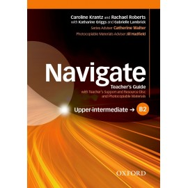 Navigate Upper-Intermediate Teacher's Book + Teacher's Resource CD-ROM
