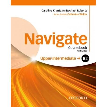 Navigate Upper-Intermediate Coursebook + eBook + Oxford Online Skills Practice Oxford University Press 9780194566766