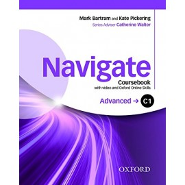 Navigate Advanced Coursebook + DVD-ROM + Oxford Online Skills Practice