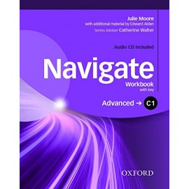 Navigate Advanced Workbook with Key + Audio CD