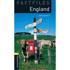 Oxford Bookworms Factfiles: England + MP3 audio download