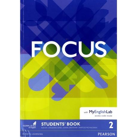 Maturita Focus 2 Pre-Intermediate Student's Book with MyEnglishLab Pearson 9781292110059